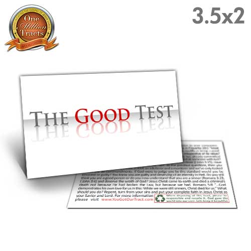 The Good Test Tract (One Million Tracts)