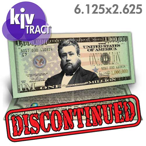 Spurgeon Million Dollar Bill (KJV)