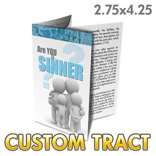 Custom Tract - Are You a Sinner?