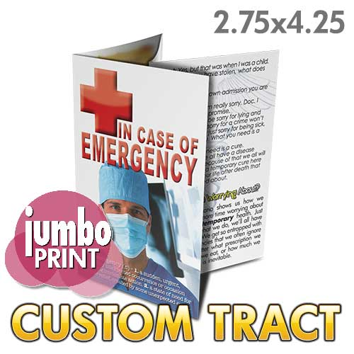 Custom Tract - In Case of Emergency