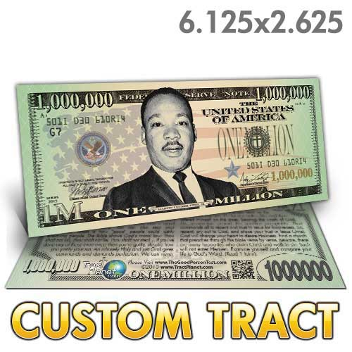Custom Tract - MLK Million