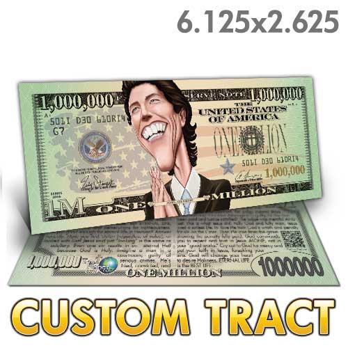 Custom Tract - Osteen Million Dollar Bill