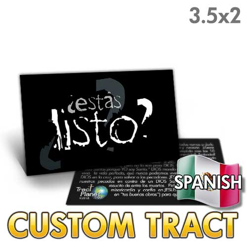 Custom Tract - Spanish Are You Ready?