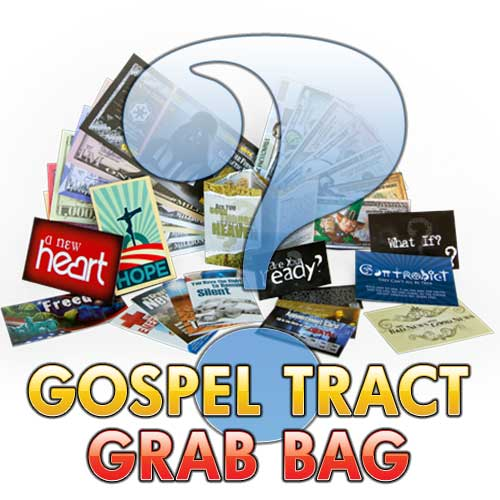 Gospel Tract Grab Bag