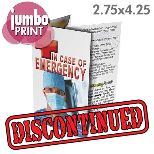 In Case of Emergency (Pack of 50)