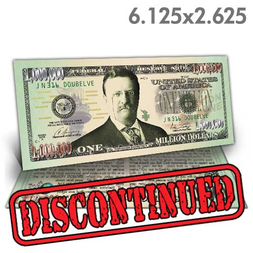 Roosevelt Million Dollar Bill