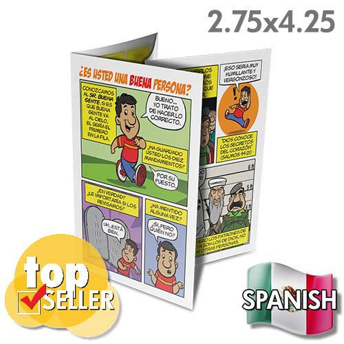 Spanish Are You A Good Person? (Pack of 50)