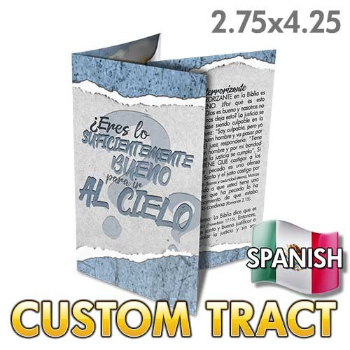 Custom Tract - Are You Good Enough? (Spanish)