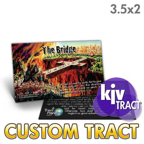 Custom Tract - Mini Bridge (KJV)