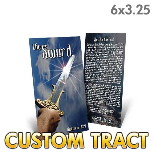 Custom Tract - The Sword