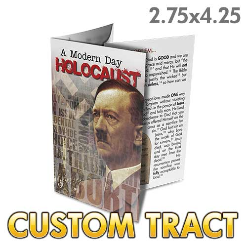 Custom Tract - Modern Day Holocaust - Abortion