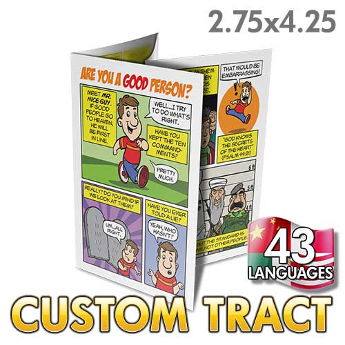Custom Tract - Are You A Good Person?