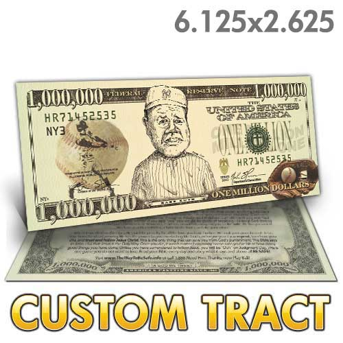 Custom Tract - Babe Ruth Million