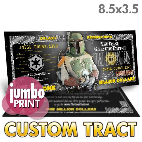 Custom Tract - Bounty Hunter Million Dollar Bill (Boba Fett)