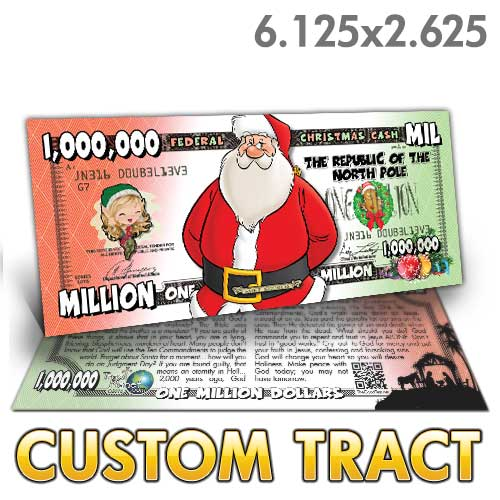 Custom Tract - Christmas Cash