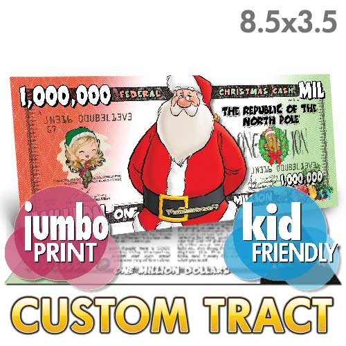 Custom Tract - Christmas Cash (Jumbo)