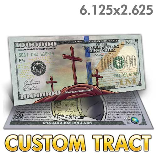 Custom Tract - Easter Million Dollar Bill
