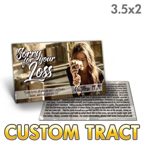 Custom Tract - Funeral Tract