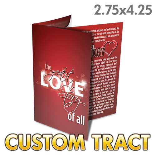 Custom Tract - The Greatest Love Story