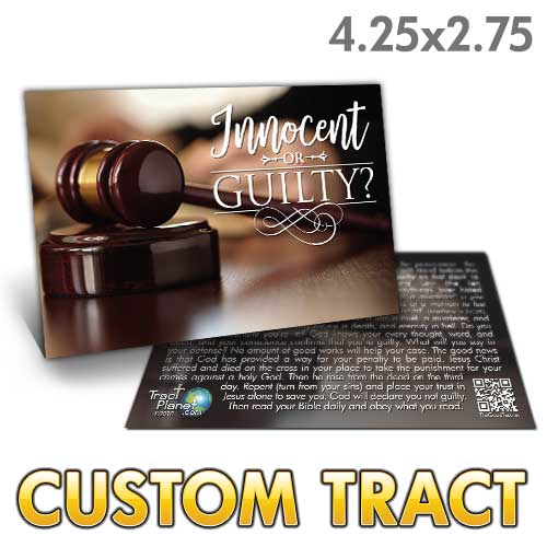Custom Tract - Innocent or Guilty