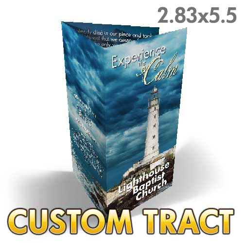 Custom Tract - Lighthouse