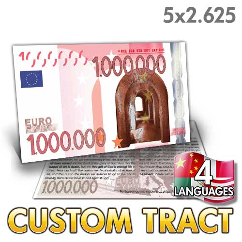 Custom Tract - Million Euro Bill