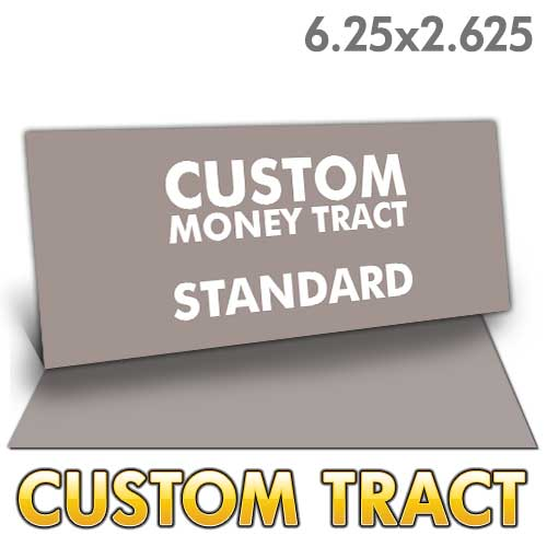 Custom Money Tract - Standard