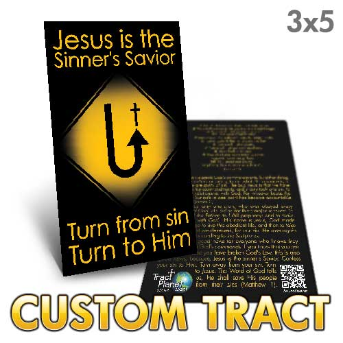 Custom Tract - Repent