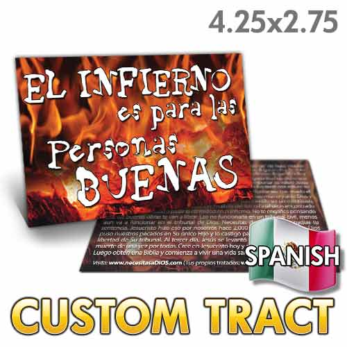 Custom Tract - Spanish Hell is for Good People
