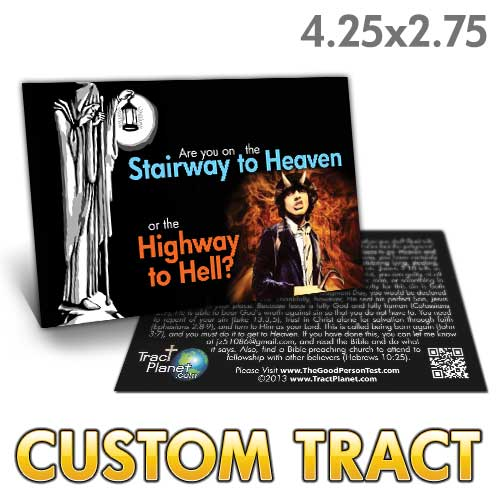 Custom Tract - Stairway to Heaven