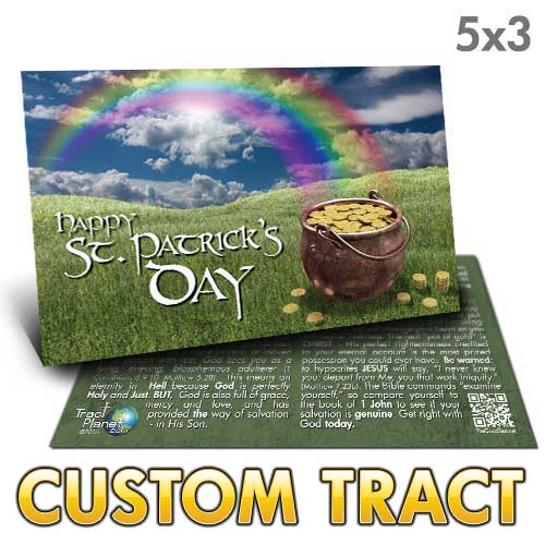 Custom Tract - St. Patrick's Day Card