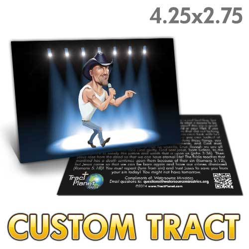 Custom Tract - Tim McGraw