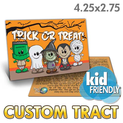 Custom Tract - Trick or Treat (Children's Halloween)