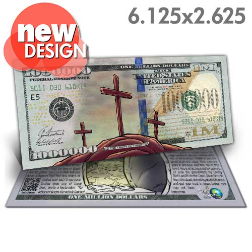 Easter Million Dollar Bill (New Design)