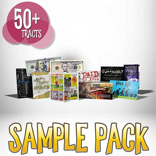 Gospel Tract Sample Pack