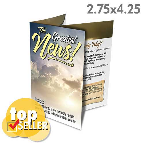 The Greatest News (Pack of 50)