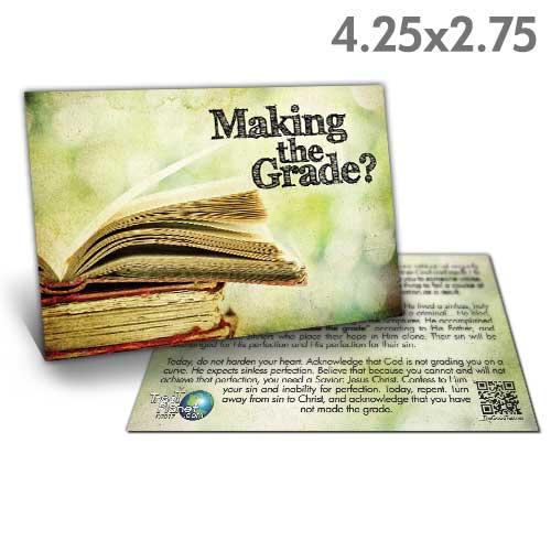 Making the Grade Tract (Pack of 50)