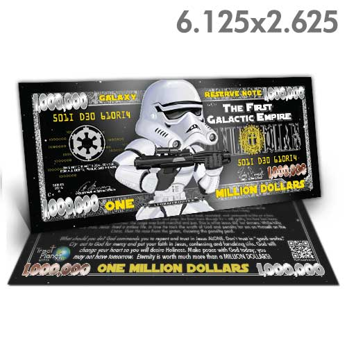 Star Wars Million Dollar Bill