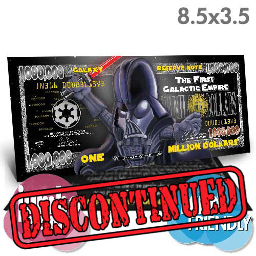 Vader Million Dollar Bill (Jumbo)