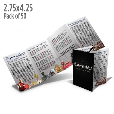 Contradict Folded Tract (Pack of 50)