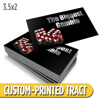 Custom Tract - The Biggest Gamble