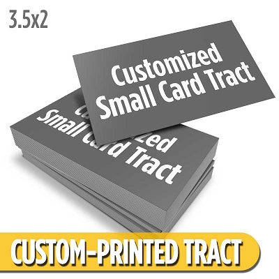 Custom Card Tract - Small