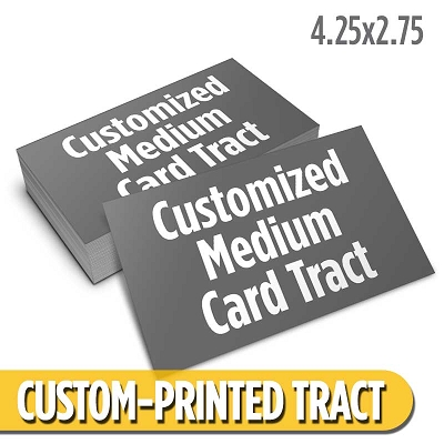 Custom Card Tract - Medium