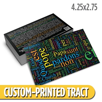 Custom Tract - Catholic Tract