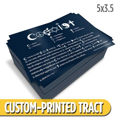 Custom Tract - Coexist