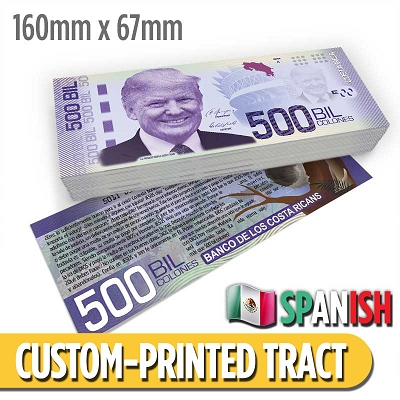 Custom Tract - Costa Rican Money Tract