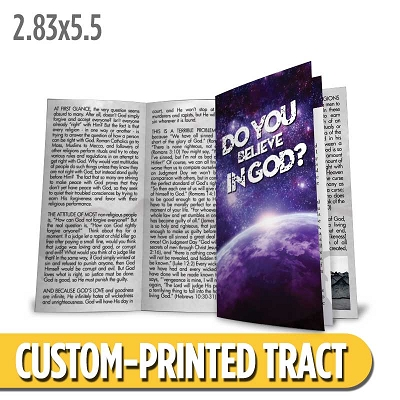 Custom Tract - Do You Believe in God?