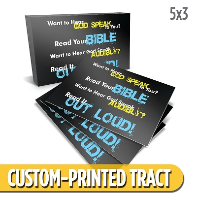 Custom Tract - Does God Speak?