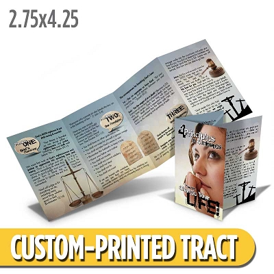 Custom Tract - Four Principles