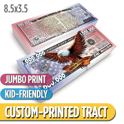 Custom Tract - Freedom Cash (Jumbo)